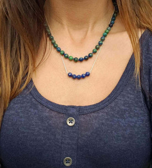 Crystal Singles Necklace