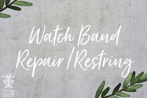Watch Band Repair/Restring Slot - purchase separately