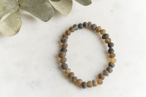 Adult Baltic Amber Bracelet - Multiple Colors Available
