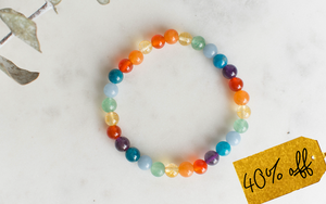 Rainbow Weight Loss Support Bracelet (Retired Design)