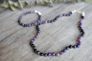 Bipolar Support by MacRae Naturals- bracelet and necklace