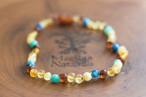Braxton Baltic Amber Necklace