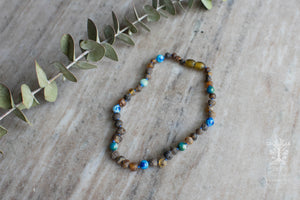 Baltic Amber Teething Necklace in 'Caden'