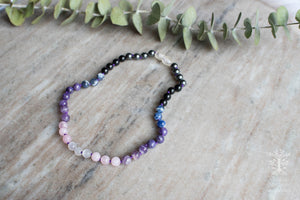 Fournado Crystal Necklace by MacRae Naturals - girl (purple)  version