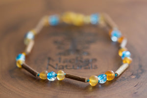 Custom Hazelwood Necklace or Bracelet- Great for Eczema, Reflux, Heartburn, and Ulcers!