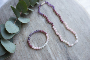 Insomnia support bracelet and necklace by MacRae Naturals
