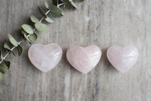 Medium Rose Quartz Heart