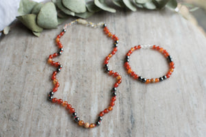 Men's Energy necklace and bracelet by MacRae Naturals