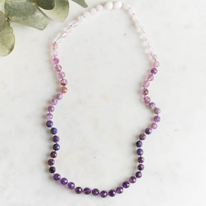 Orchid - Faceted Ombre Purple Jewelry