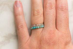 Faceted Ring Stacks