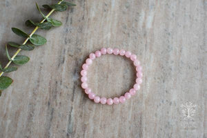 Rose Quartz Bracelet by MacRae Naturals