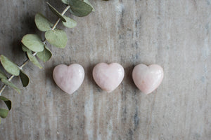 Small Rose Quartz Heart