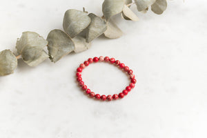 Red Sea Sediment Jasper Bracelet single