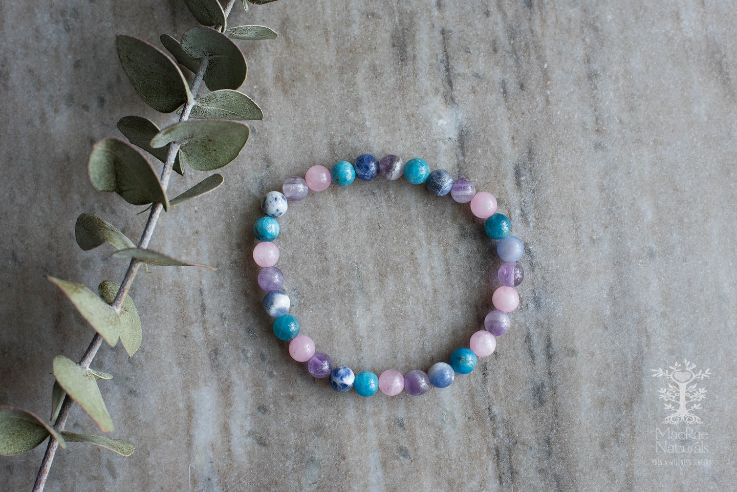 Weight Loss Support Crystal Bracelet