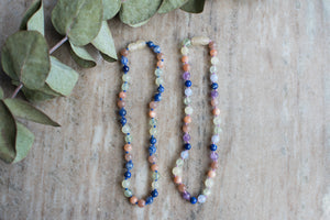Two-nami Crystal Necklace - two designs available! by MacRae Naturals