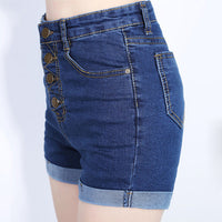 Retro Denim  Shorts