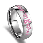 Breast Cancer Awareness Pink Ring