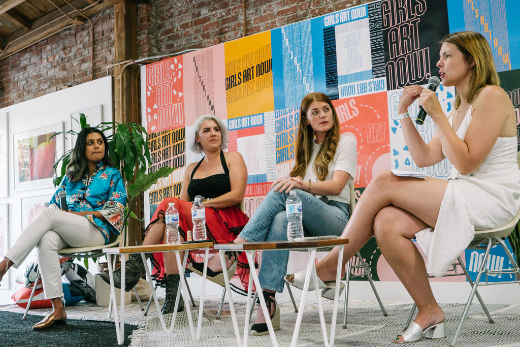 'Making Art At The End of The World' Panel with Kristen Stegemoeller and Tera Uhlinger of Sexy Beast, Whitney Bell, and Zarna Surti