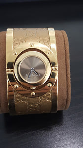 Gucci Twirl Large Gold Tone Ladies Watch