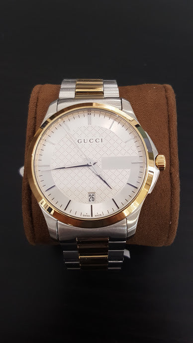 Gucci G-Timeless Two Tone Men's Watch