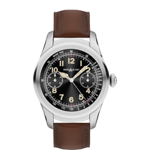 Montblanc Summit Smartwatch - Titanium Case with Brown Leather Strap