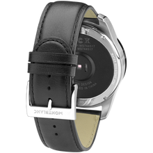 Montblanc Summit Smartwatch - Bi-color Steel Case with Black Leather Strap
