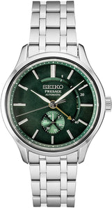Seiko Presage Green Automatic Stainless Steel Watch SSA397