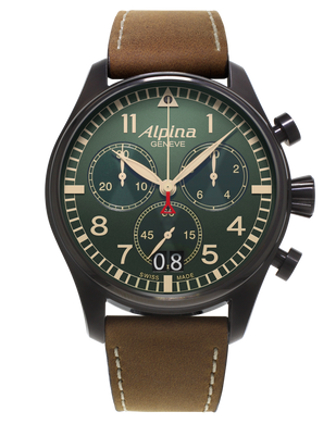 STARTIMER PILOT BIG DATE CHRONOGRAPH MILITARY