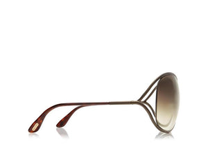 FT0130 Tom Ford Miranda Oversized Soft Square Sunglasses