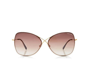 FT0250 Tom Ford Colette Butterfly Sunglasses