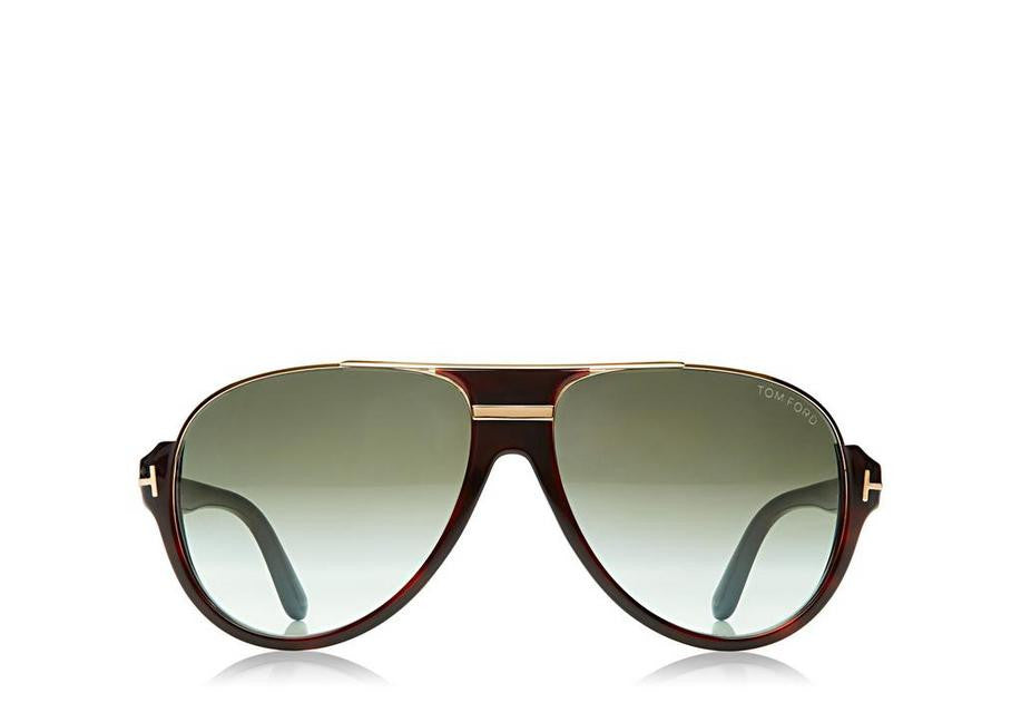 FT0334 Tom Ford Dimitry Vintage Aviator Sunglasses