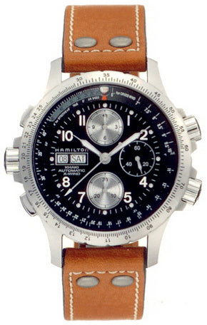 Hamilton Men's Khaki X Wind Automatic Chronograph Men's Watch H77616533