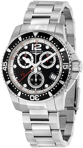 L37434566 Longines HydroConquest Quartz Chrono 41mm Mens Watch