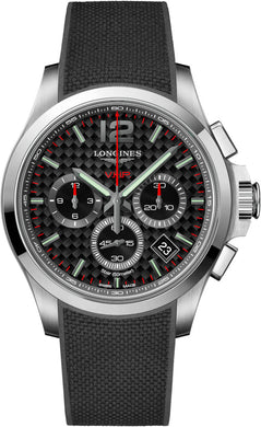 L37174669 Longines Conquest V.H.P. Chronograph 42mm Mens Watch