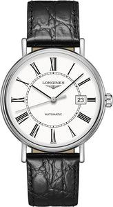 Longines Presence Automatic White Dial Men's Watch L49224112