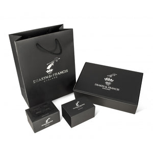 Sterling Silver Businessman Cufflinks