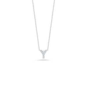 Love Letter Y Pendant with Diamonds