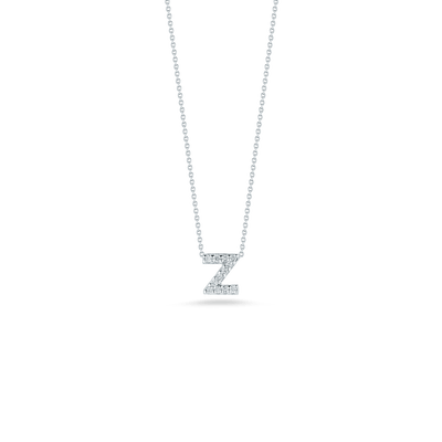 Love Letter Z Pendant with Diamonds