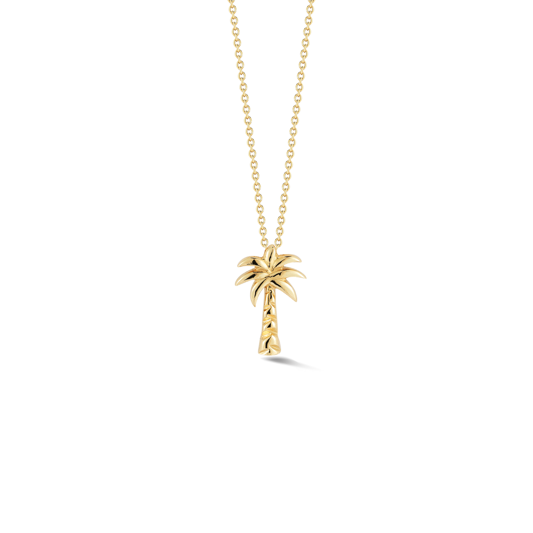 Roberto-Coin Tiny-Treasures 18K Palm Tree Pendant