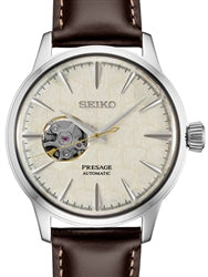 Seiko Automatic Brown Leather Limited Edition Presage SSA409