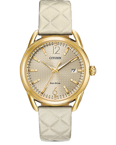 Citizen Women's Watch Ivory 36mm Stainless Steel