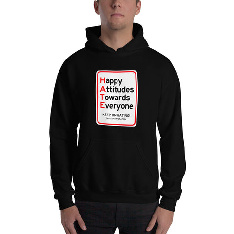 HATE Street Cleaning Hooded Sweatshirt