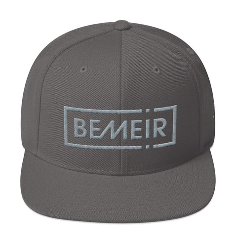 Bemeir Grey Threads Snapback Hat