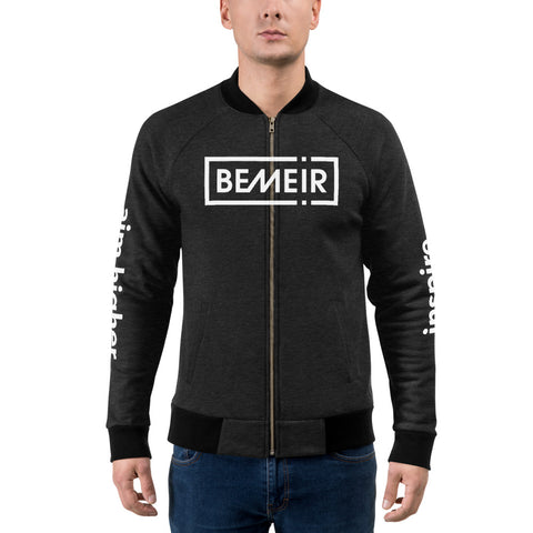 Bemeir Black Bomber Jacket