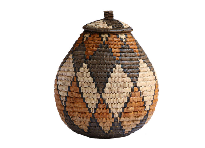 Ukhamba Bulb Shaped Basket