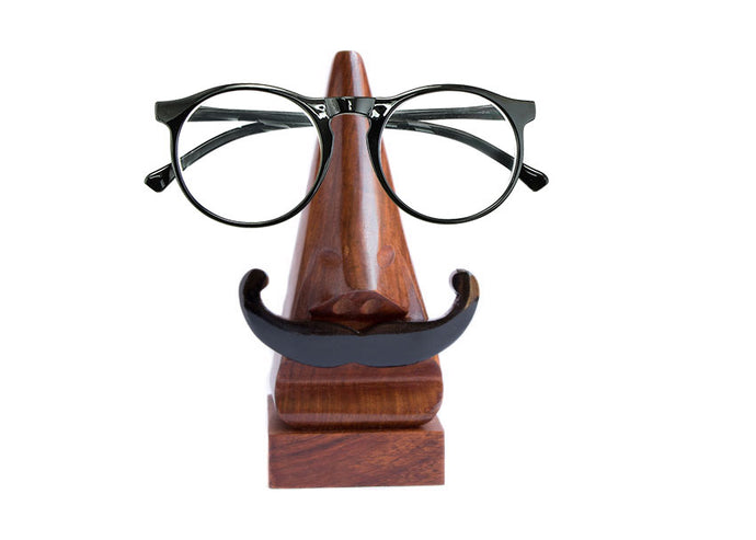 Mustache Eyeglass Holder