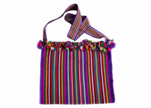 Multicolored Handwoven Shoulder Bag
