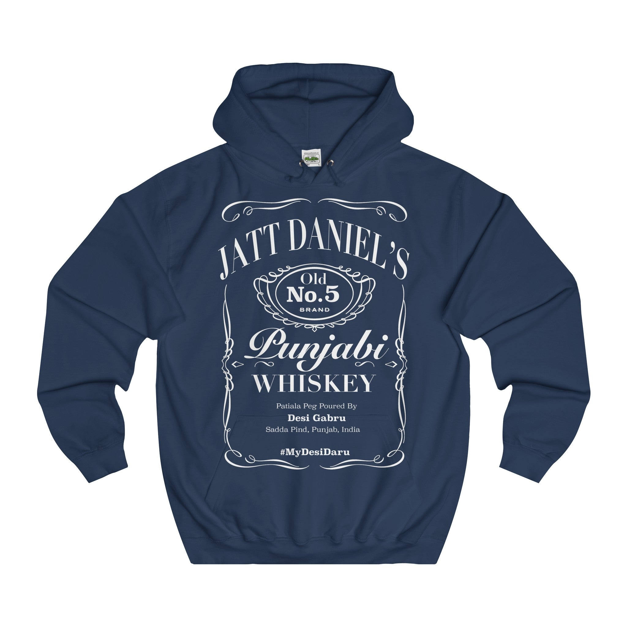 Jatt Daniel's Hoodie International - MyDesiDaru