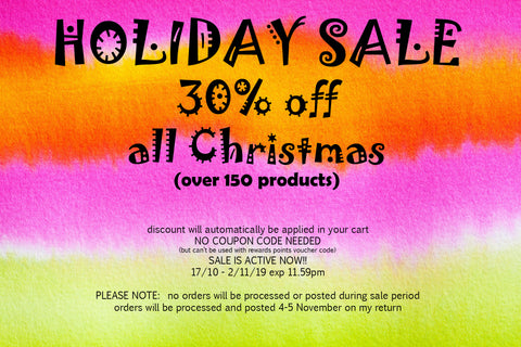 shopaperartz CHRISTMAS is on sale with 30% discount
