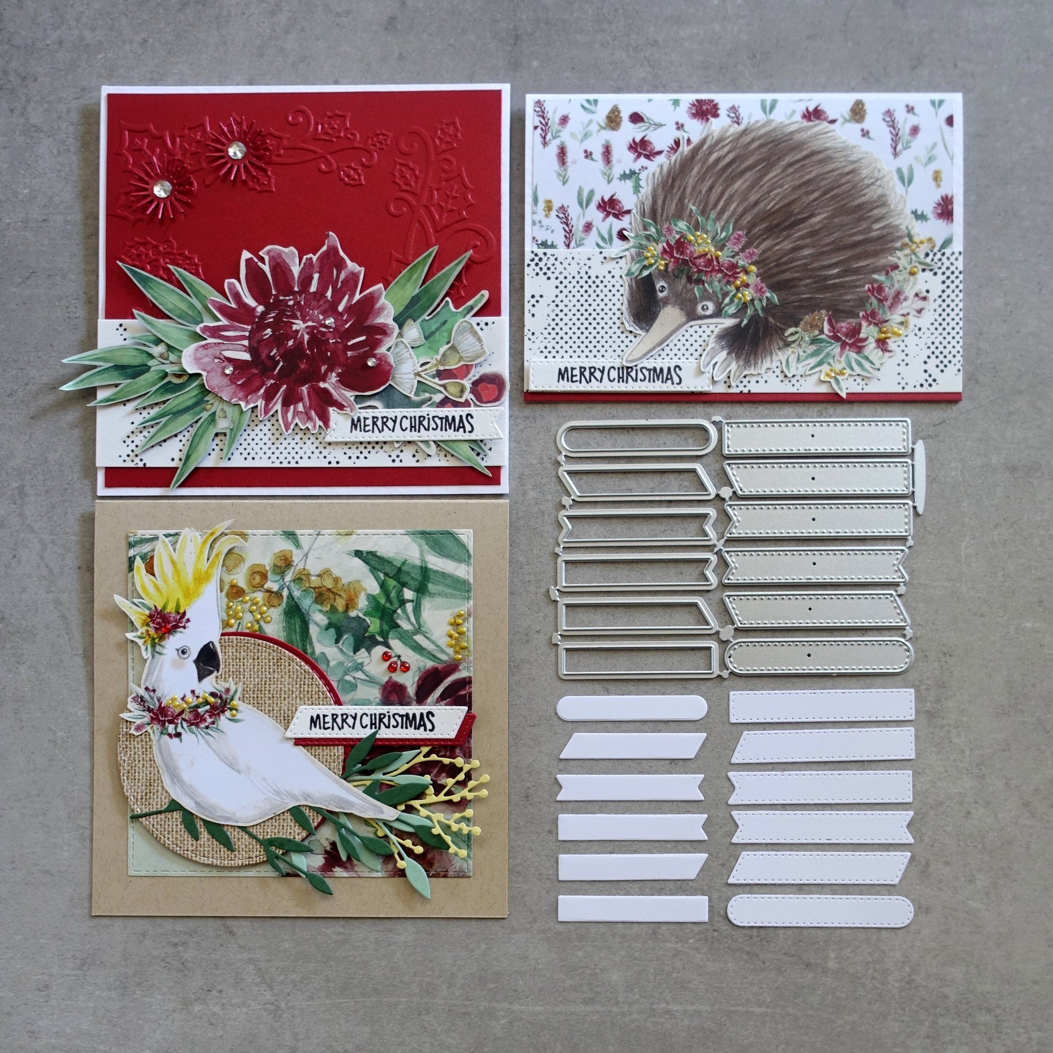 shopaperartz SMALL STITCHED LABELS & TAGS SET OF 12 CHRISTMAS BIRTHDAY CUTTING DIES CARDMAKING FITS SIZZIX CUTTLEBUG